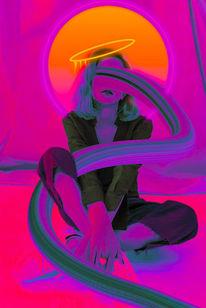 Farben, Modern art, Menschen, Digitale kunst