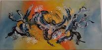 Malerei, Modern art, Acrylmalerei, Malerei acrylmalerei