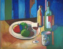 Malerei, Stillleben, Blick,