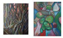 Abstrakt, Malerei, Anfang,