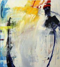 Malerei, Schwungvoll, Schichtenmalerei, Gestisch