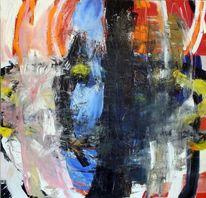 Bunt, Schichtenmalerei, Kraftvoll, Ölmalerei
