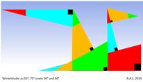 Geometrie, Konkrete kunst, Winkel, Digitale kunst