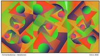 Kubismus, Blaue reiter, Formen, Malerei