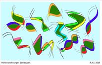 Reigen, Konkrete kunst, Digitale kunst,