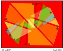 Konkrete kunst, Rot, Winkel, Geometrie