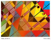 Mathematik, Konkrete kunst, Digitale kunst,