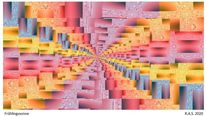 Verzerrung, Fokussieren, Konkrete kunst, Digitale kunst