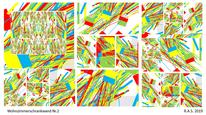 Farben, Konkrete kunst, Digitale kunst,