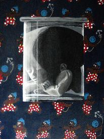 Feuchtpräparat, Irrenturm, Malerei, Glas