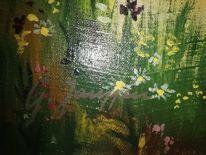 Landschaft, Malerei, Signatur, Pinnwand