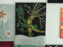 Winter, Gedanken, Albtraum, Malerei