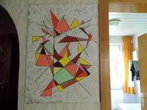 Einklang, Logisch, Acrylmalerei, Geometrie