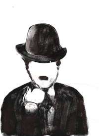 Chaplin, Weiß, Charlie chaplin, Komödiant