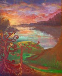 Fantasie, Natur, Bunt, Baum