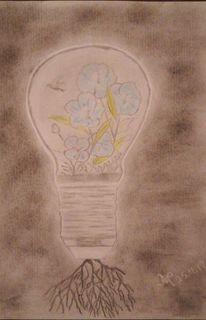 Kohlezeichnung, Zeichnungen