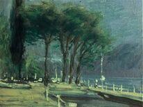 Landschaft malerei, Locarno, Tessin, Malerei