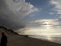 Strand, Weite, Dänemark, Wolken