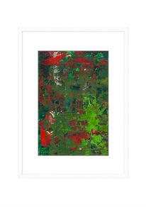 Rot, Abstrakt, Zeitgenössisch, Design