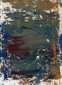 Modern, Malerei abstrakt, Farben, Schwarz