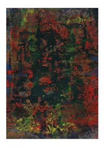 Rot, Malerei abstrakt, Farben, Malerei