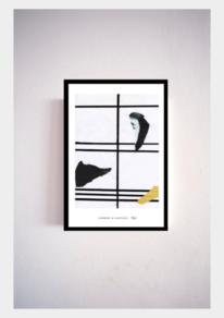 Ölmalerei, Zeitgenössisch, Farben, Mondrian