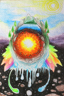Visionär, Alchemie, Bunt, Psychedelisch