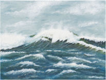 Meer, Aufgewühlt, Welle, Sturm