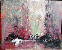 Pouring, Leben, Traum, Landschaft