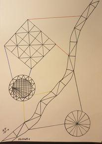 Formen, Abstrakt, Zeichnungen