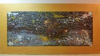 Abstrakt, Struktur, Braun, Malerei