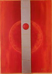 Sphäre, Kontrast, Kreis, Malerei