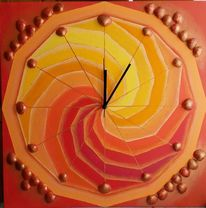 Kreis, Orange, Segment, Malerei