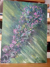 Blumen, Blumenstrauß, Bunt, Malerei