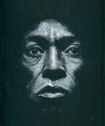 Miles davis, Portrait, Pastellmalerei, Zeichnungen