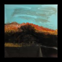 Gemälde, Abstrakt, Harz, Acrylmalerei