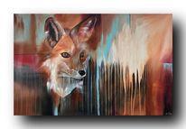 Design, Acrylmalerei, Gemälde, Abstrakt