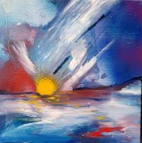 Himmel, Malerei