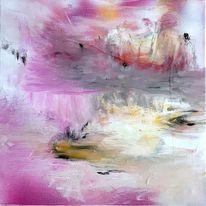 Zart, Abstrakt, Malerei