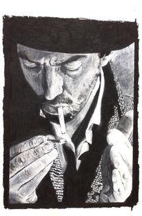 Schnurrbart, Mann, Portrait, Zigarette