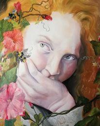 Träumerei, Ölmalerei, Langeweile, Malerei