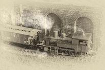 Modellbahn, Nebenbahn, Modellbau, Basteln