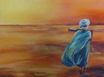 Sahara, Landschaft, Tuareg, Wüste