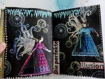 Fantasie, Skizzenbuch, Artjournal, Illustrationen
