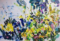 See, Landschaft, Bewegung, Malerei