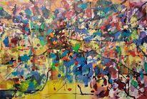Landschaft, Atmosphäre, Ursprung, Malerei
