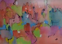 Landschaft, Stille, Atmosphäre, Malerei