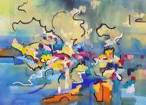 Emotion, Atmosphäre, Meer, Malerei