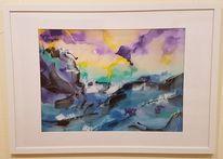 Landschaft, Atmosphäre, Bewegung, Malerei