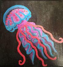 Farben, Schwarz, Malerei acrylmalerei, Malerei